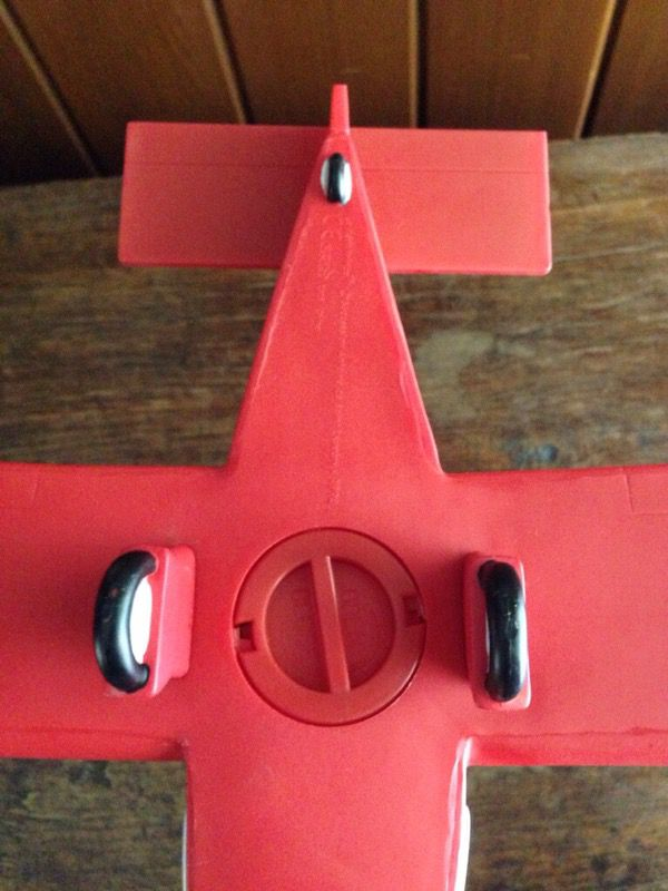 The Little Prince Red Plane Plastic Money Bank