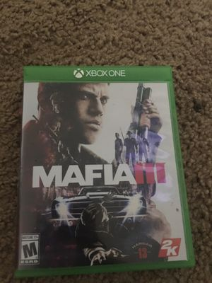 Mafia 3 Xbox one w/ pre order bonus for Sale in Orlando, FL