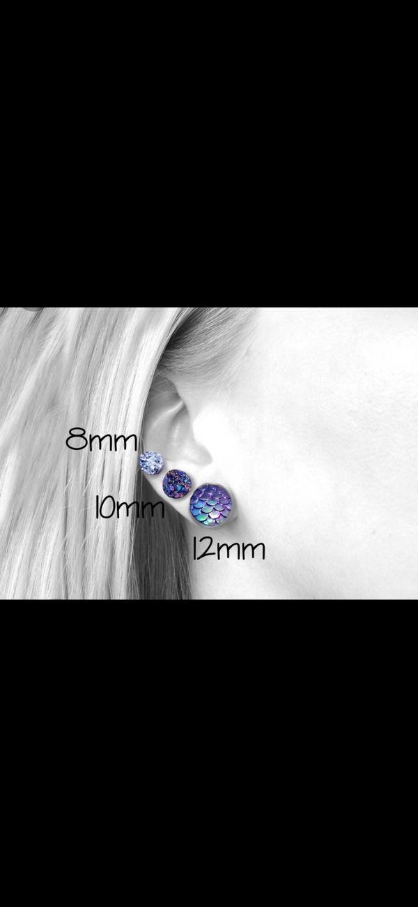 Avaya Designs Druzy Studs Earrings Bundle