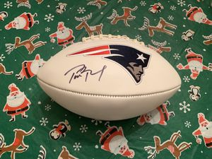Tom Brady Autographed Football for Sale in Foxborough, MA