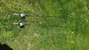 Pair of Zebco fishing rod & reels for Sale in Hazlet, NJ