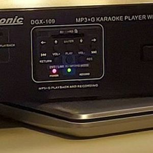 Acesonic Dgx 109- MP3 + G KAREOKE PLAYER WITH DIGITAL RECORDING for Sale in Port St. Lucie, FL