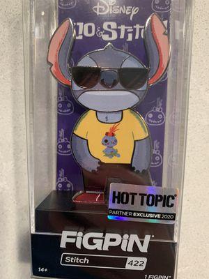 Stitch in Scrump Shirt FiGPiN Hot Topic Exclusive 422 Lilo Disney for Sale in Highland Village, TX