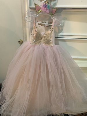 Tutu inspired unicorn party theme dress for Sale in North Las Vegas, NV