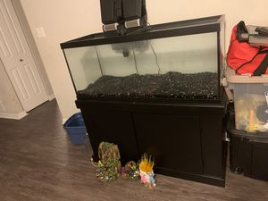 Fish tank with stand for Sale in Winter Haven, FL