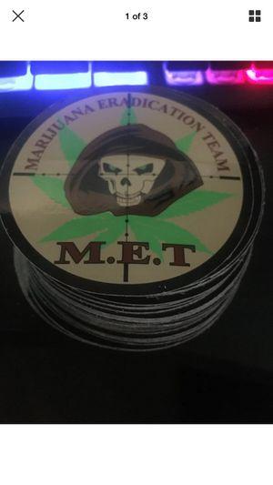 Weed sticker marijuana eradication team for Sale in Lodi, CA