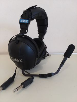 Telex ProAir 5000E- Double-sided aviation headphones| Pilot Aviation Headset. for Sale in Adelphi, MD