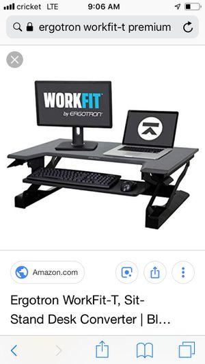 Ergo tron stand up desk for Sale in Denver, CO