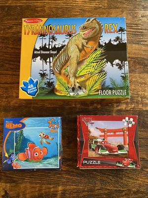 Puzzles, board games, flash cards for Sale in Frisco, TX