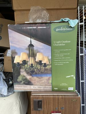 Outdoor Chandelier for Sale in Chicago, IL
