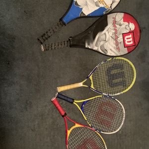 Wilson Tennis Racquets for Sale in Fontana, CA