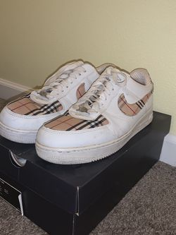 Burberry Air Force 1 Custom for Sale in Oregon City,  OR