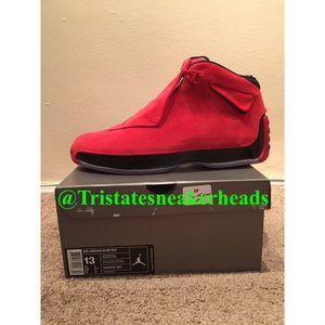 Air Jordan 18 Toro 18's Men's Size 13 for Sale in New York, NY