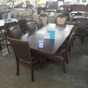 New large Dinning Set 7pieces Table Chairs for Sale in Ontario, CA