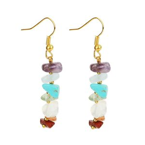 *NEW ARRIVAL* 7 Chakra Beads Yoga Reiki Healing Drop Earrings *See My Other 200 Items* for Sale in Palm Beach Gardens, FL