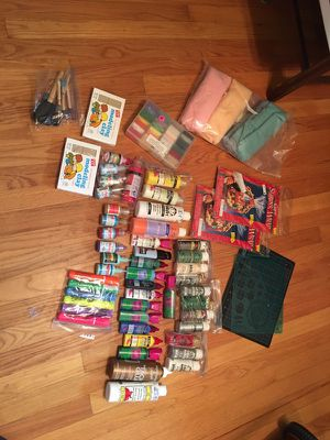 Assorted arts/craft supplies for Sale in Glendale Heights, IL