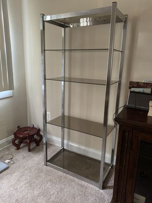 Glass shelves MUST PICKUP THIS WEEK! for Sale in Naval Academy, MD