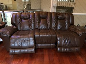 Sofa motorized reclining for Sale in Mahwah, NJ