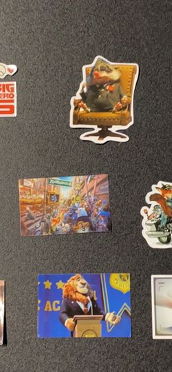 Zootopia Stickers Lot Of 9 for Sale in Bedford,  MA