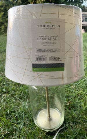 Lamp & lamp shade for Sale in Ewa Beach, HI