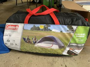 Tent and Sleeping bag for Sale in Greensburg, PA