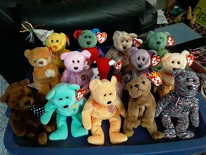 14 Ty Beanie Babies Bears for Sale in Columbus, OH