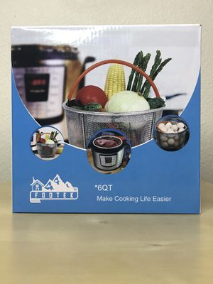 New 6QT Instant Pot Steamer Stainer Basket with Handle for Sale in Tucson, AZ