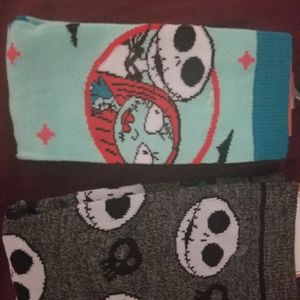 Nightmare Before Christmas Socks Lot Of 2 for Sale in Hialeah, FL