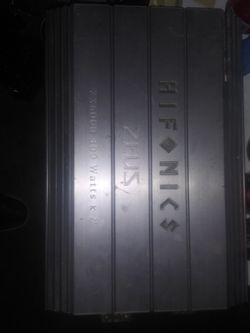 Hifonics Amp for Sale in Long Beach,  CA