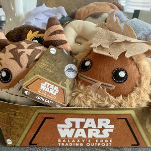 Star Wars Galaxy's Edge Trading Post Plushies for Sale in Murrieta, CA