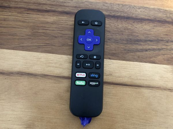 Roku 1 (3rd Generation) Media Streamer 2710X With Remote and 2ft HDMI -Black