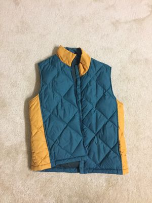 Feather vest, women, size M for Sale in Chantilly, VA
