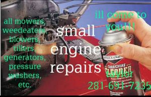 Small engine repair for Sale in OLD RVR-WNFRE, TX