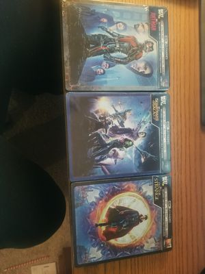 Marvel Collectible Steelbooks in 4K for Sale in Brentwood, NC
