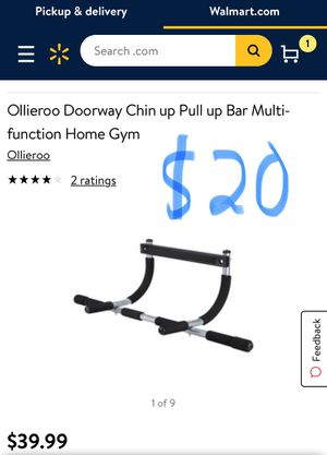 Ollieroo doorway chin up pull up bar for Sale in Phoenix, AZ