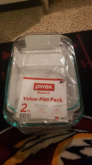 Pyrex glass pans for Sale in West Springfield, VA
