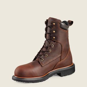 Red Wings Boots /insulation /Work - Style 400 DYNAFORCE® MEN'S 8-INCH WATERPROOF SOFT TOE BOOT for Sale in Chicago, IL