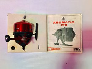 Vintage fishing Reel Abu-Matic 170 ( Sweden) for Sale in Glendale Heights, IL