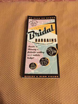 Bridal Bargains Book for Sale in Alexandria, VA