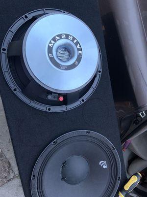 Massive audio pro 12in for Sale in Philadelphia, PA