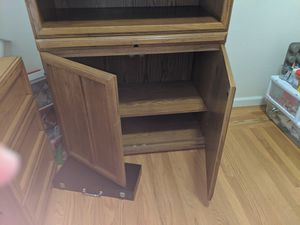 Desk, bookcases, and storage cabinets for Sale in Walnut Creek, CA