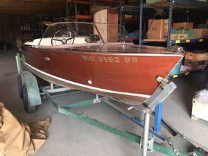 1959 Chris Craft wood Ski boat for Sale in Lake Angelus, MI