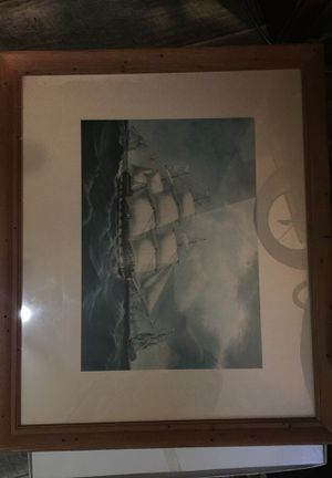 Vintage ship print for Sale in Tacoma, WA