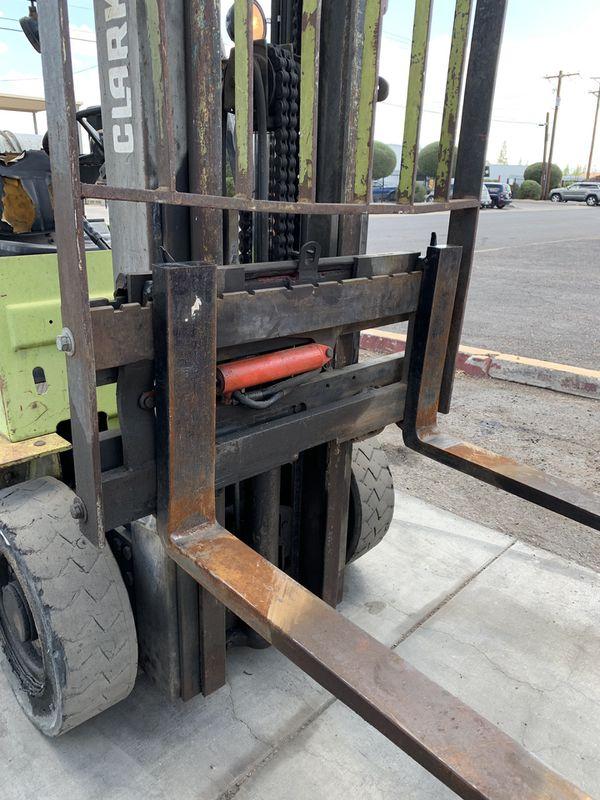 Clark forklift 5000lb yard tires
