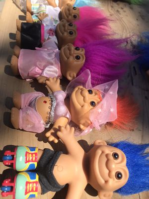 Good luck troll dolls for Sale in Seattle, WA