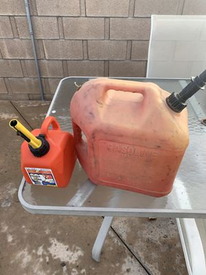 Gas Cans for Sale in Hemet, CA