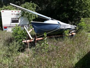 Sailboat 15' , with trailer, AS IS for Sale in Independence charter Township, MI