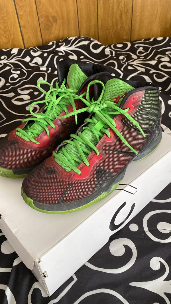 Nike Air Jordan SuperFly 4 Marvin The Martian Blake Griffin Size 10