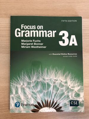 Focus on grammar 3A for Sale in Columbia, SC