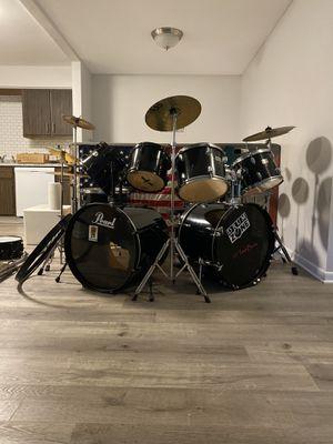Frankenstein Drum Set (Drum Zone/ Pearl) for Sale in Traverse City, MI
